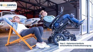 Patientenorientierte wirtschaftliche E-Rollstuhl-Versorgung