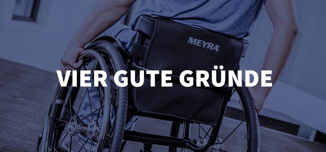 MEYRA - Banner Gute Gründe