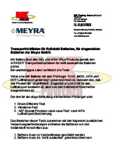 MEYRA - MK Battery International