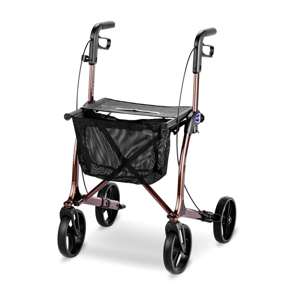 meyra mobilus rollator gehhilfe moderner design nur 6 9 kg. Black Bedroom Furniture Sets. Home Design Ideas