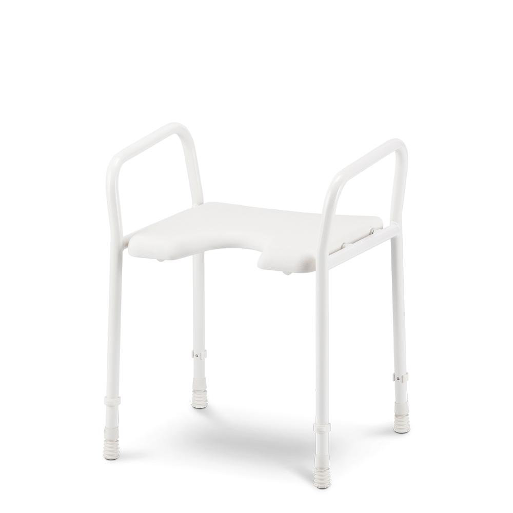 duschhocker mit armlehnen meyra. Black Bedroom Furniture Sets. Home Design Ideas