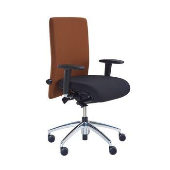 Moderner Bürodrehstuhl mit Bandscheiben- oder Arthrodesensitz MODELL 1.200