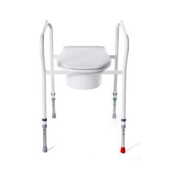 Toilettenhilfe bei Hüftgelenkversteifung