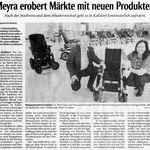 MEYRA erobert Märkte mit neuen Produkten