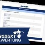 Bewerten Sie Ihr MEYRA-Produkt – schnell und anonym